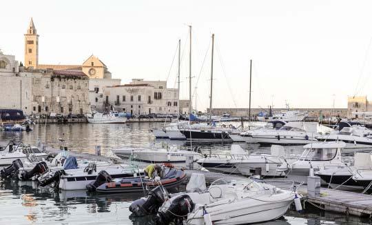 Itinerari - Trani e il moscato - Strada dei Vini DOC Castel del Monte